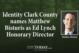 Identity Clark County names Matthew Bisturis as Ed Lynch Honorary Director