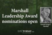 Marshall Leadership Award nominations open