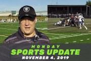 Monday Sports Update • November 4, 2019