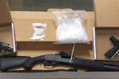 Vancouver Police arrest fugitive and recover multiple guns and drugs