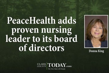 PeaceHealth adds proven nursing leader to its board of directors