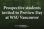 Prospective students invited to Preview Day at WSU Vancouver