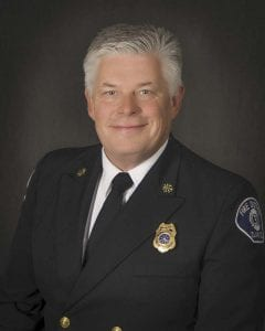 Scott Sorenson, fire chief Clark County Fire District 3