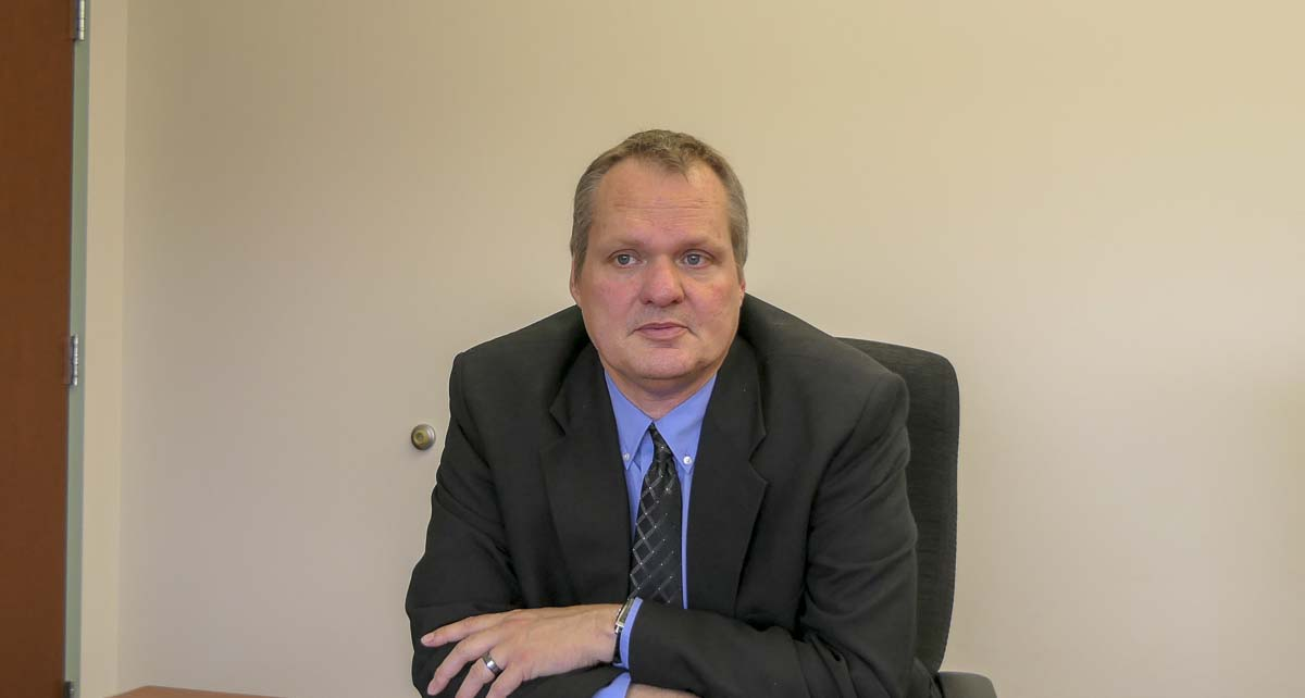 Clark County Manager Shawn Henessee released his recommended 2020 budget earlier this month. Photo by Chris Brown