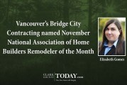 Vancouver's Bridge City Contracting named November National Association of Home Builders Remodeler of the Month
