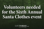 Volunteers needed for the Sixth Annual Santa Clothes event