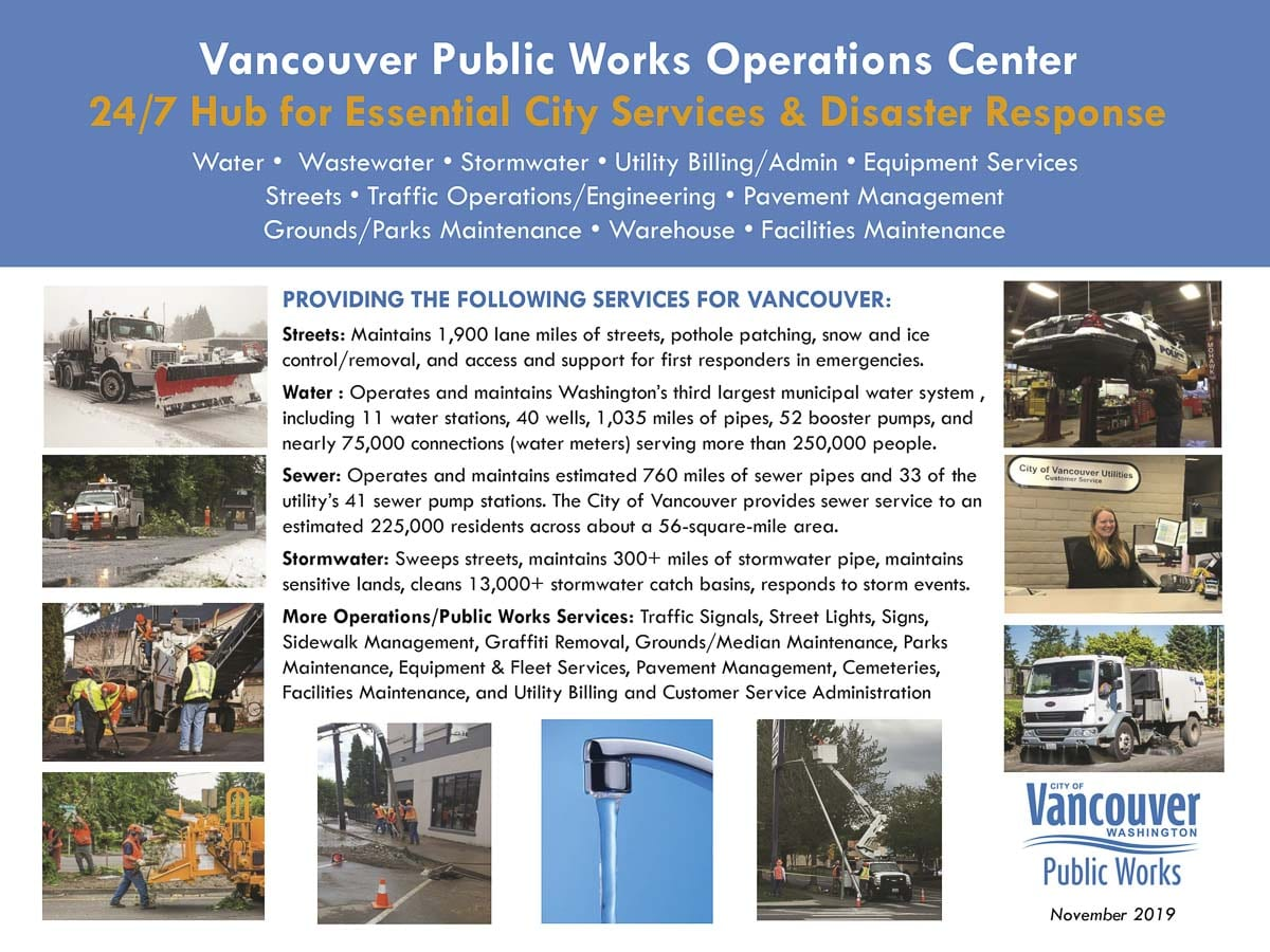 The city of Vancouver's proposal to purchase a 35-acre site currently owned by Clark County for a future replacement Operations Center has received the go-ahead by the Clark County Council, which authorized County Manager Shawn Henessee to proceed with the sale agreement. Photo courtesy of city of Vancouver