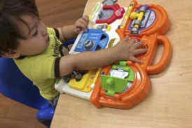 The Goddard School preschoolers test and pick top ten toys for this holiday season