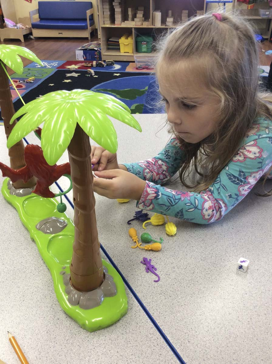 Preschoolers at The Goddard School in Salmon Creek tested toys last month to rate them just in time for the holidays. Photo courtesy of The Goddard School