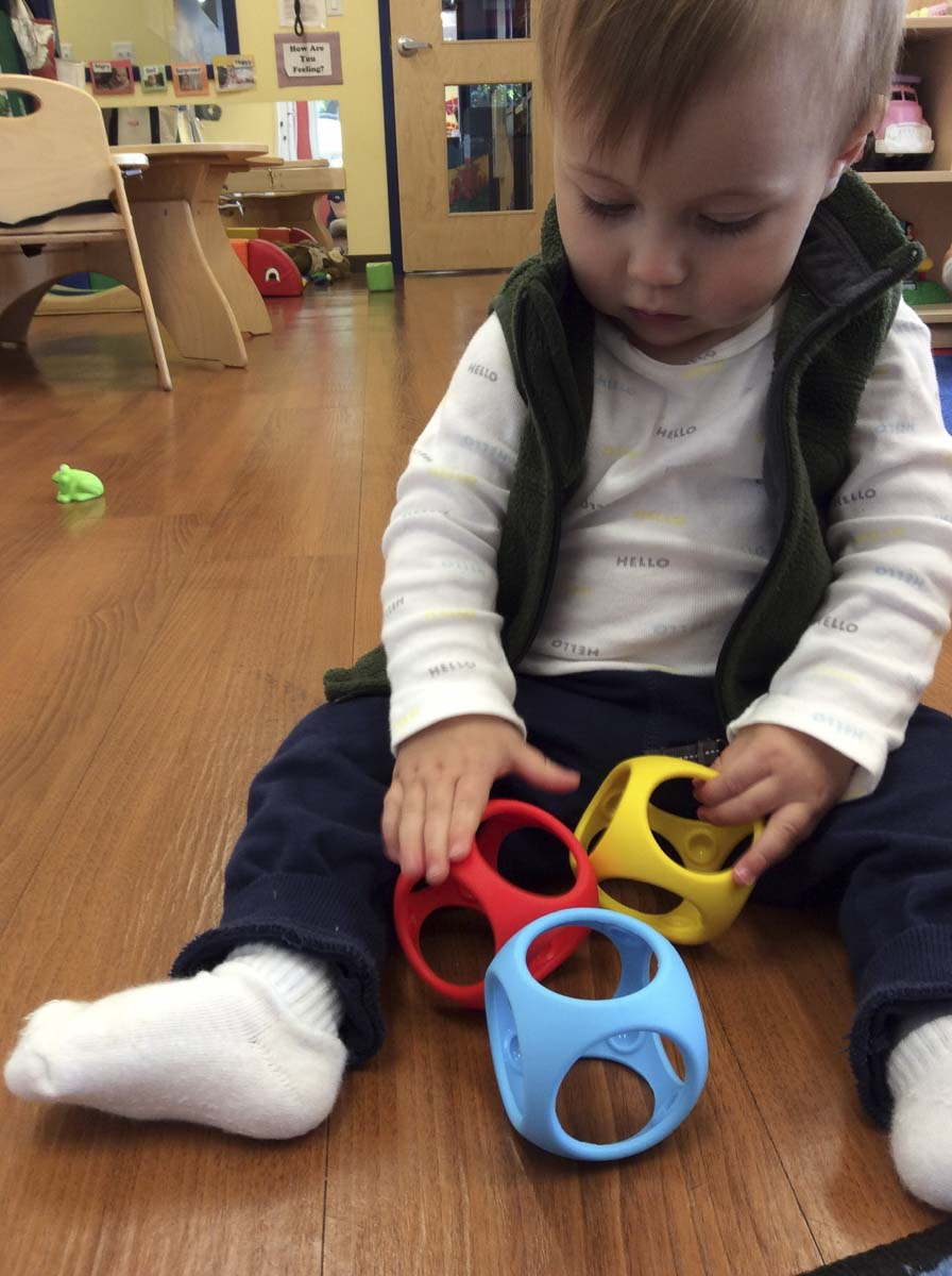 The Preschooler-Approved Toy Test is in it's 12th year at The Goddard School in Salmon Creek, and is just one of 49 Goddard Schools participating across the nation. Photo courtesy of The Goddard School