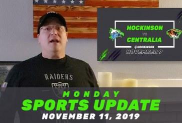 Monday Sports Update • November 11, 2019