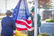 A Flag Dedication: Veterans Day 2019