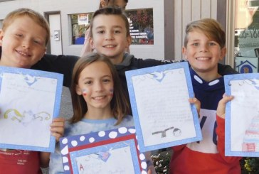 Ridgefield fourth graders honor veterans by writing letters