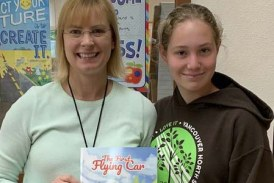 Battle Ground High School sophomore publishes children's chapter book