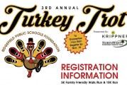 Ridgefield's 3rd annual Turkey Trot Walk/Run set for Nov. 28