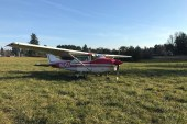 Plane goes off the runway at Grove Field in Camas