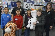Battle Ground children given the opportunity to shop with a cop