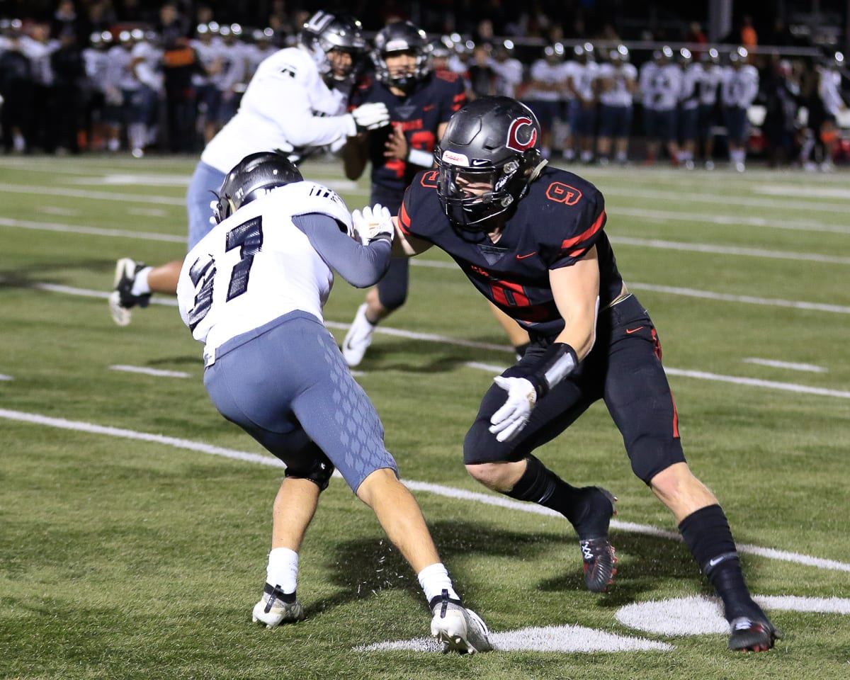 Camas defenders do not care who gets the credit as long as the job gets done on the football field.