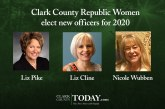 Clark County Republic Women elect new officers for 2020 and present Year End Awards