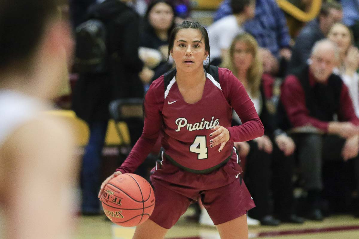 Prairie senior Allison Corral has dealt with health issues for most of her life. Basketball has been there throughout, as well. Photo by Mike Schultz