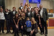 BGHS Advanced Jazz Band takes first place at Skyview Jazz Festival