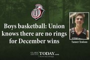Boys basketball: Union knows there are no rings for December wins