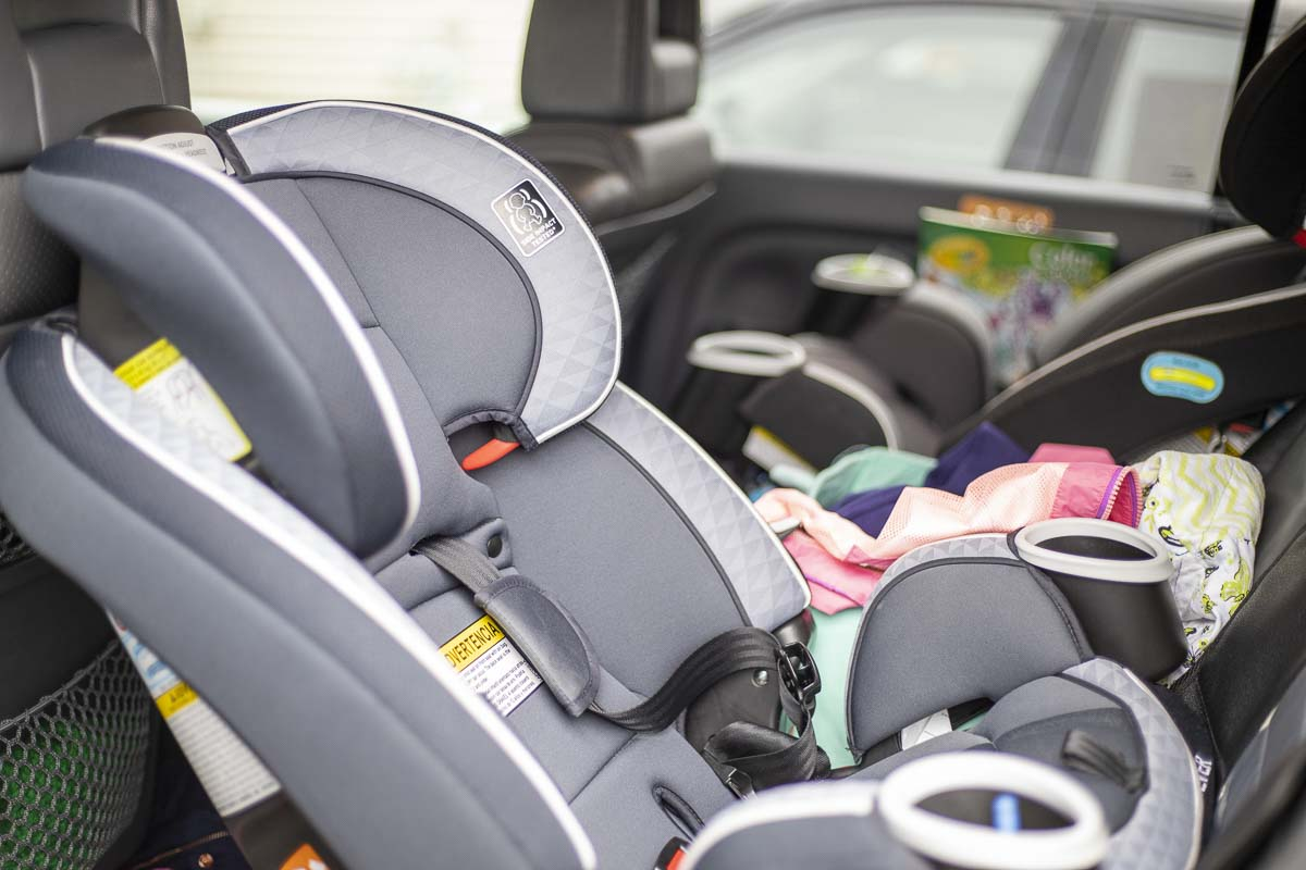 New car seat guidelines are among a group of new laws taking effect after Jan. 1. Photo by Chris Brown