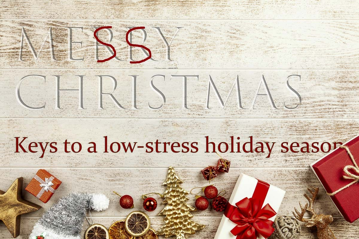 The holidays can be a time of great joy, but also plenty of stress. A PeaceHealth Southwest doctor has some tips on keeping your sanity. Image courtesy PeaceHealth Southwest