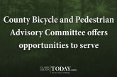 County Bicycle and Pedestrian Advisory Committee offers opportunities to serve