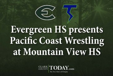 Evergreen HS presents Pacific Coast Wrestling at Mountain View HS
