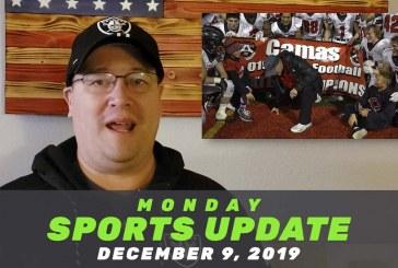 Monday Sports Update • December 9, 2019