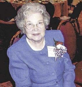 The late Margaret Colf Hepola (shown here) and her sons, Bob and Dick Colf, purchased Summit Grove Lodge in 2009. The Colf family maintains an event and restaurant business at the site, and continues to preserve the history and memory of the prominent local and national figures associated with Summit Grove. Photo courtesy of North Clark Historical museum