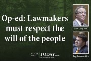 Op-ed: Lawmakers must respect the will of the people