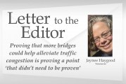 Letter: Proving that more bridges could help alleviate traffic congestion is proving a point 'that didn't need to be proven'