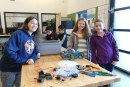 View Ridge Middle School STEM Class builds and races dragsters