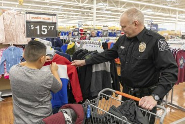 Woodland Walmart hosts ninth annual Shop with a Cop