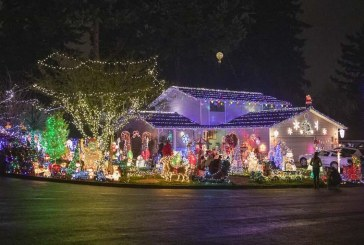 Holiday season lights up the community