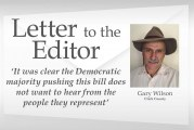 Letter: 'It was clear the Democratic majority pushing this bill does not want to hear from the people they represent'