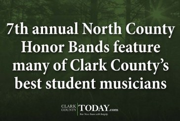 7th annual North County Honor Bands feature many of Clark County's best student musicians