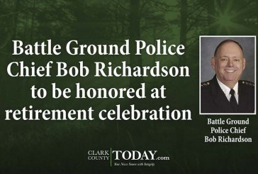 Battle Ground Police Chief Bob Richardson to be honored at retirement celebration