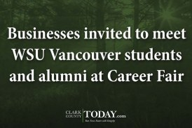 Businesses invited to meet WSU Vancouver students and alumni at Career Fair