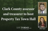 Clark County assessor and treasurer to host Property Tax Town Hall