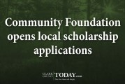 Community Foundation opens local scholarship applications