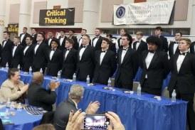 Camas, Washougal players take top scholarships at football banquet
