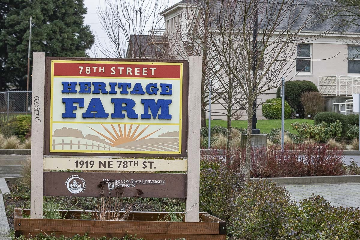 The 78th Street Heritage Farm was created in 1873 as the Clark County Poor Farm. It now serves as an educational hub for people across the area. Photo by Mike Schultz