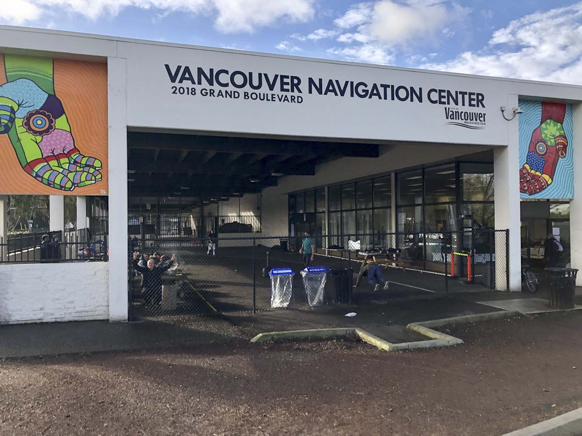 The Vancouver Navigation Center on Grand Blvd. near Fourth Plain has drawn plenty of criticism from neighbors. Photo by Jacob Granneman