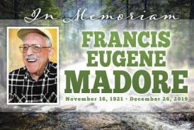 Obituary: Francis Eugene Madore