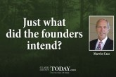Just what did the founders intend?