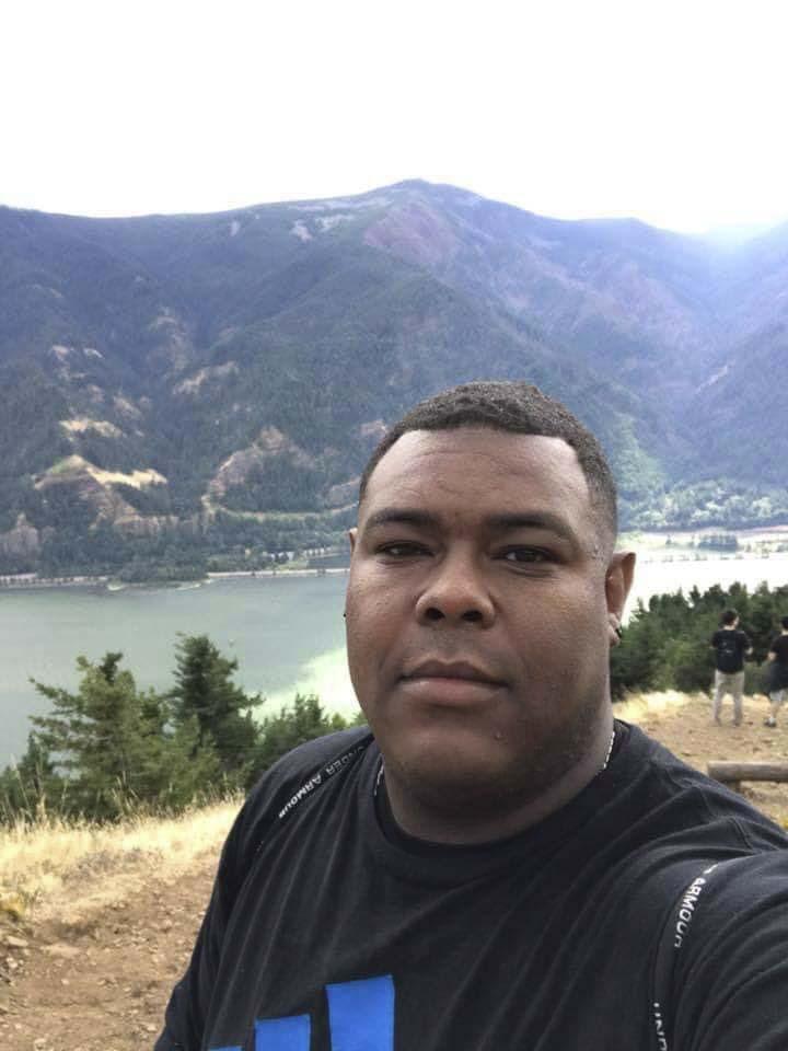 Keland Hill, a former Marine, killed his estranged wife on Nov. 26, then shot and killed himself after a police pursuit. Photo via Facebook