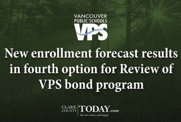 New enrollment forecast results in fourth option for Review of VPS bond program